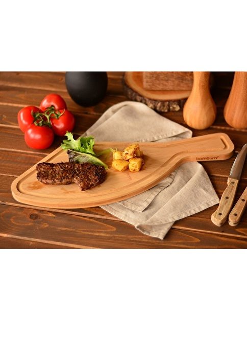 Bambum Beef - Kesme & Steak Tahtası Renkli